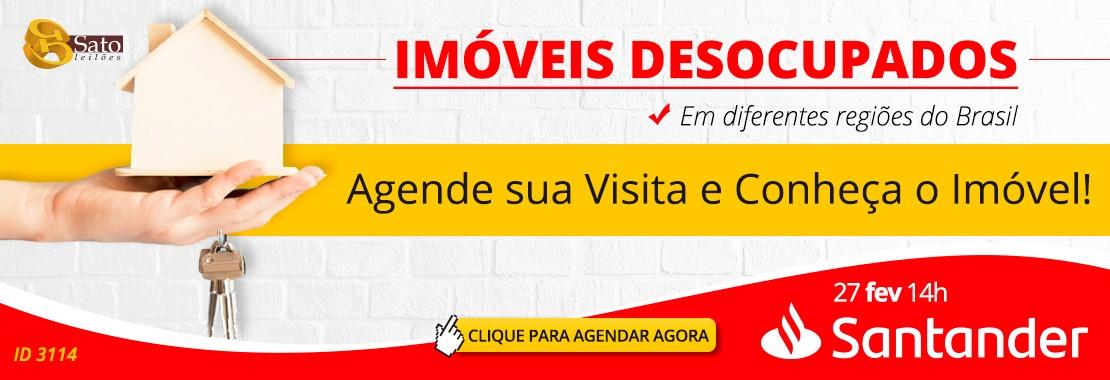 Leilão Santander - Imóveis Desocupados