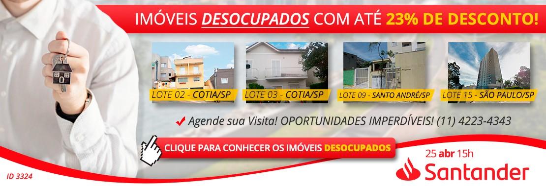 Leilão Santander Desocupados