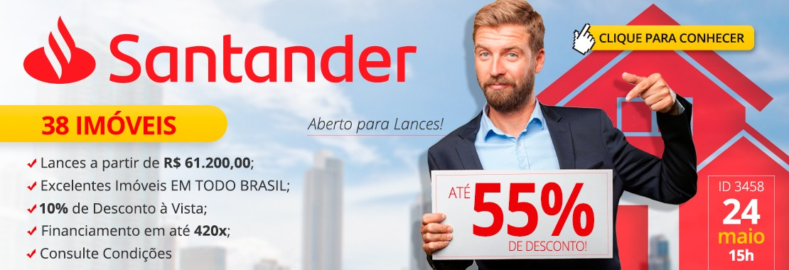 Leilão Santander