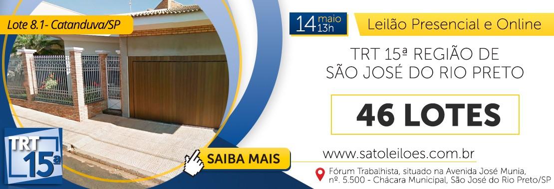 TRT 15ª São José do Rio Preto