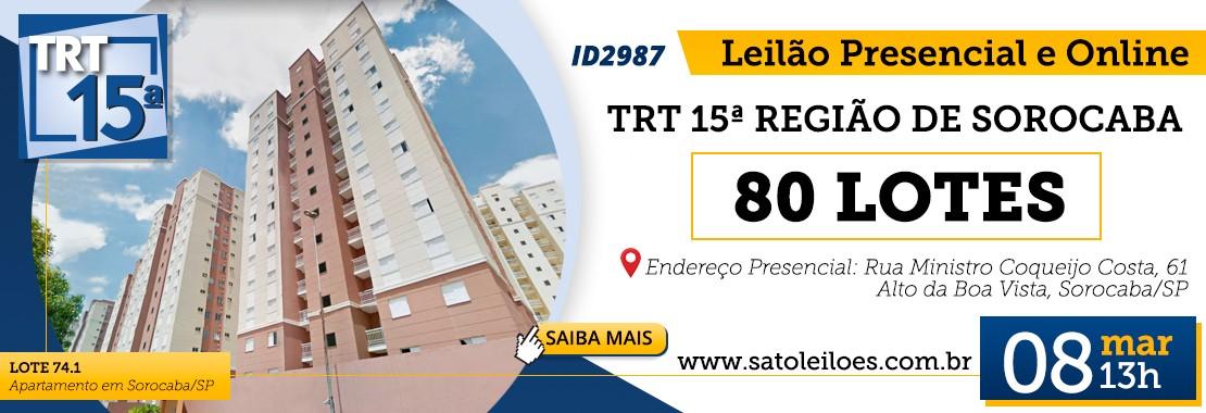 TRT 15ª Sorocaba