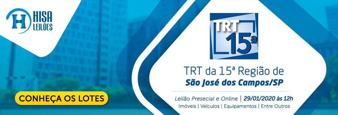 TRT 15ª de São José dos Campos