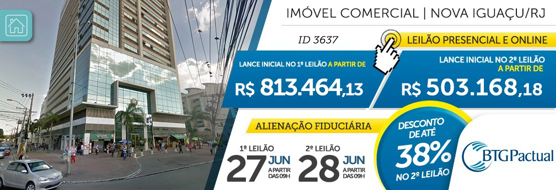 Imóvel Comercial em Nova Iguaçu/RJ