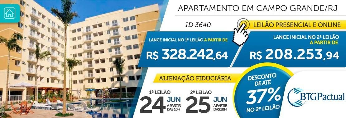 Apartamento em Campo Grande/RJ