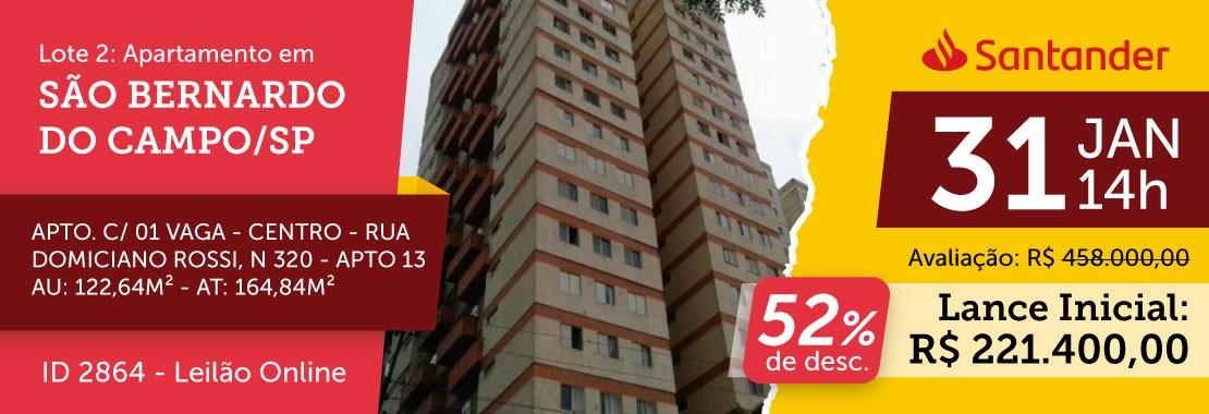 Lote 02 - Leilão Banco Santander
