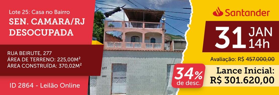 Lote 25 - Leilão Banco Santander