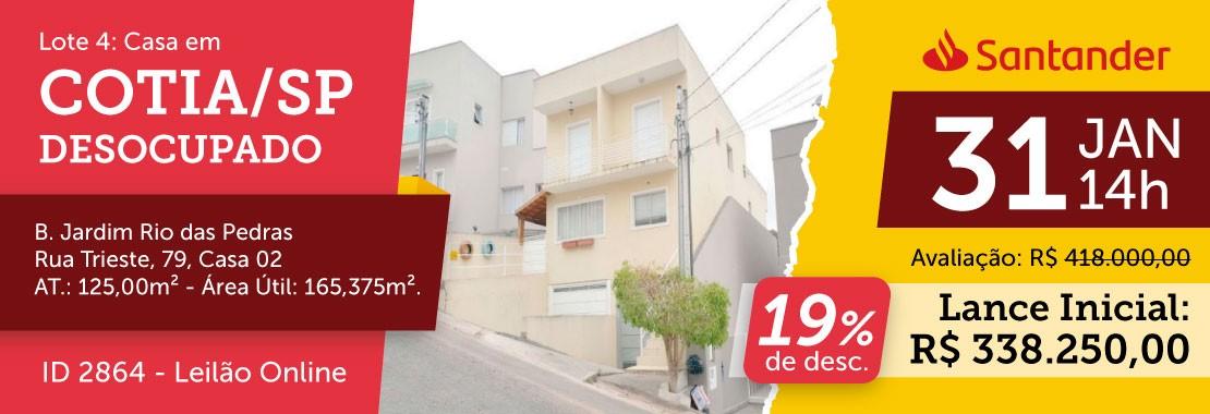 Lote 04 - Leilão Banco Santander