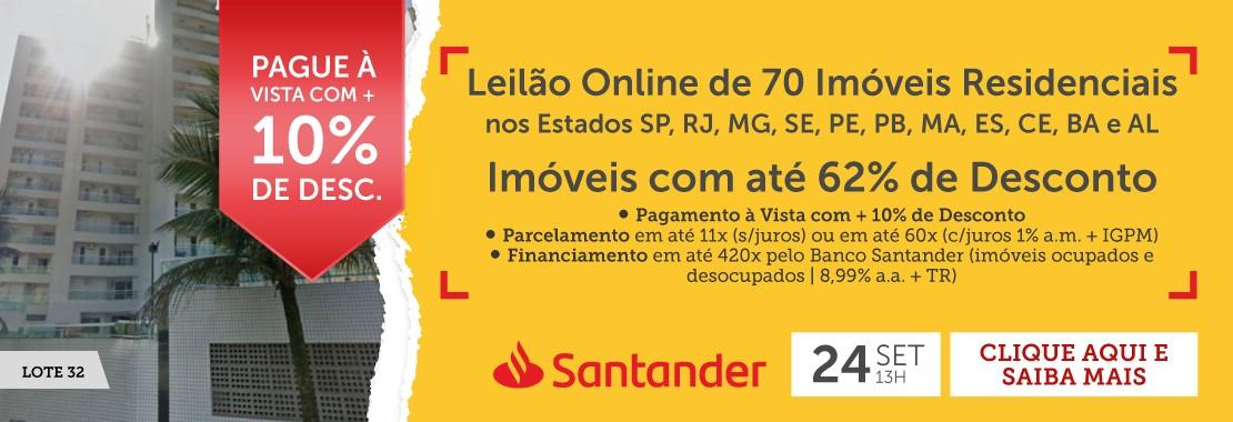 Leilão do Banco Santander