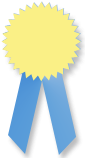 Member of the month ribbon