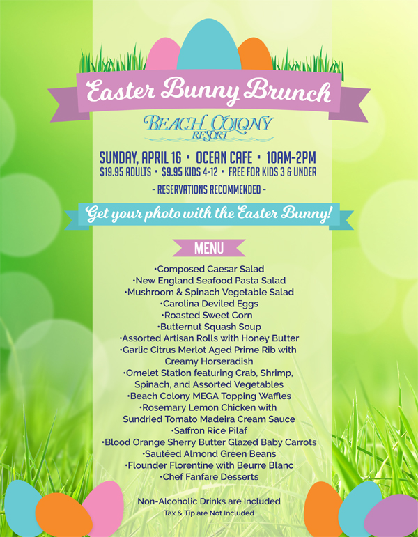 Easter at Beach Colony Resort