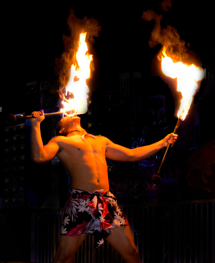 Beach Colony Polynesian Fire Show