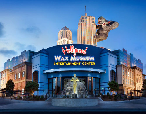 Wax Museum in Myrtle Beach, SC is a fun new attraction.