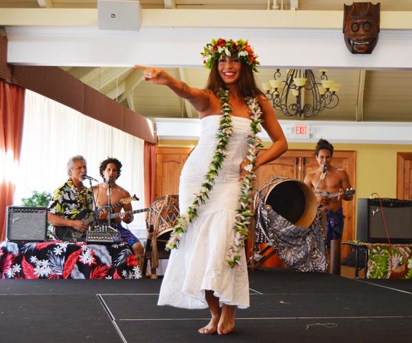 Polynesian Fire Luau & Fire Show