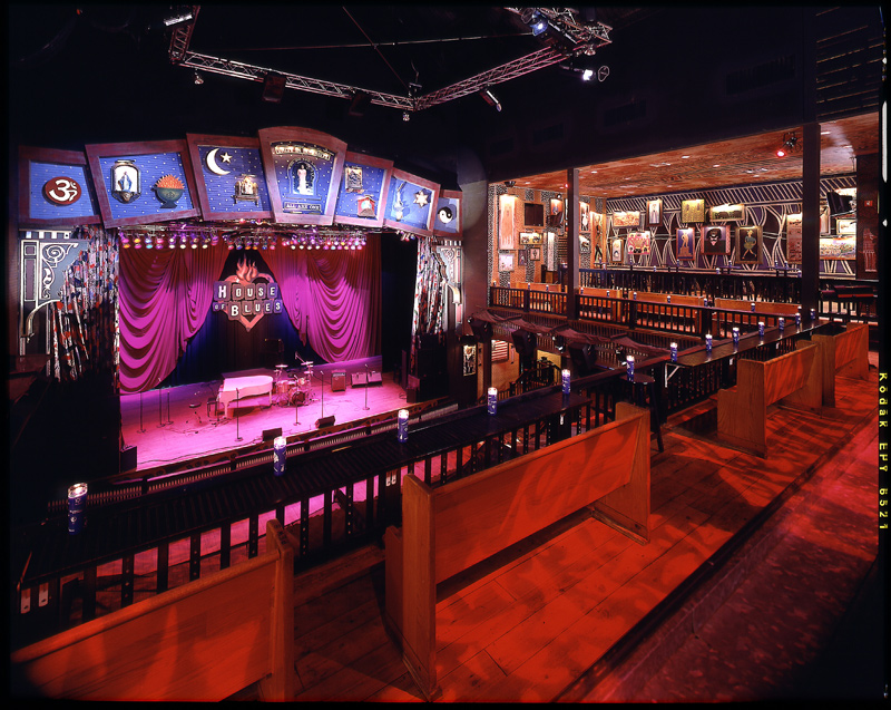 House of Blues, indoor rainy day activity