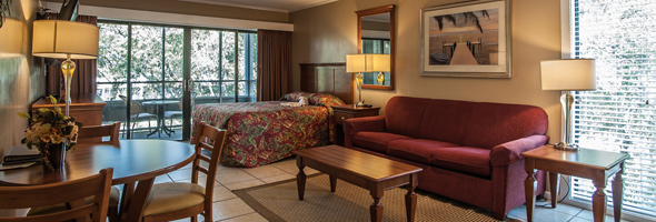 Lodge Villas at Ocean Creek Resort near North Myrtle Beach