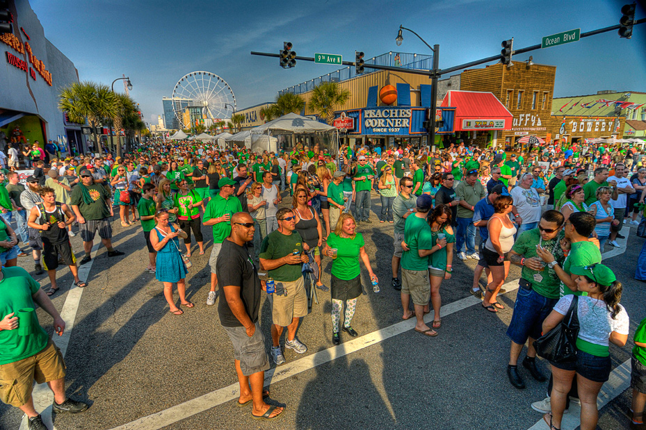 St. Patrick's Day Event Downtown Myrtle Beach