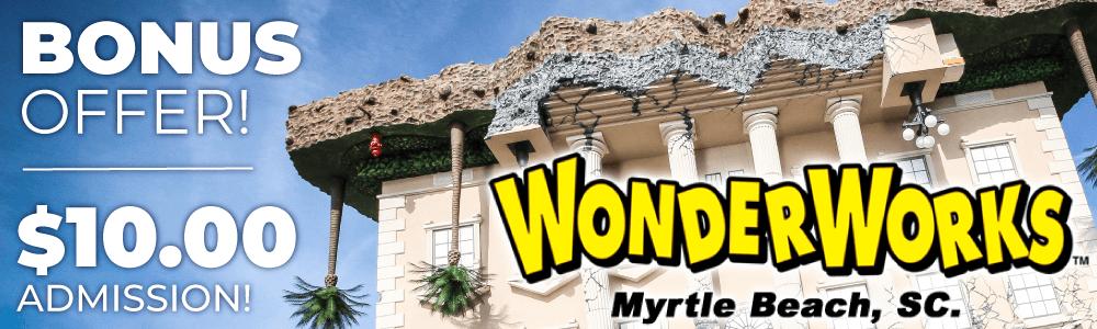 Bonus Offer | $10 Admission to WonderWorks