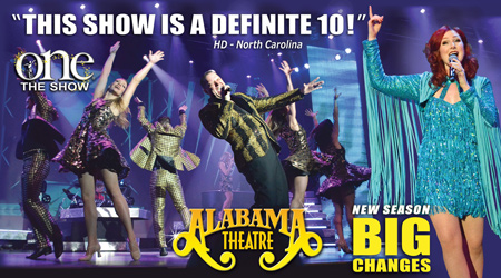 Alabama Theatre Myrtle Beach ONE The Show
