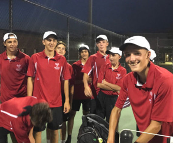 New Palestine Tennis (IN) upsets Delta to break 100 in-a-row streak