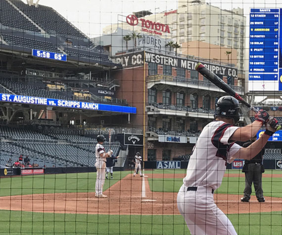 Petco Park plays host to the Falcons