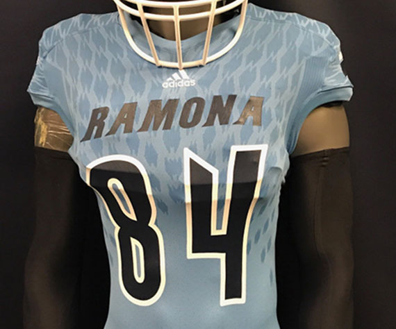 Ramona (CA) debuts new Adidas uniforms
