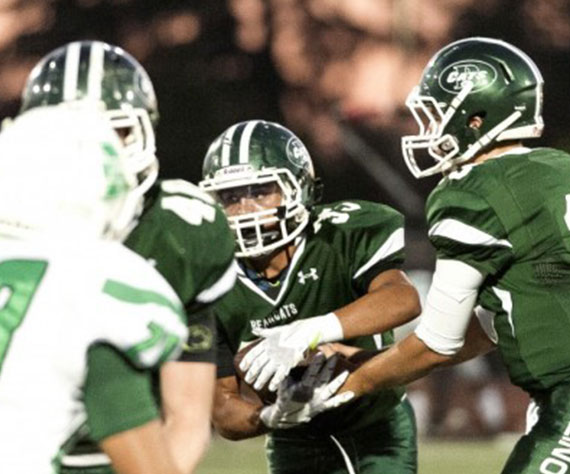 San Gabriel Valley Tribune rates Bonita Football (CA) as a team poised for a big 2017