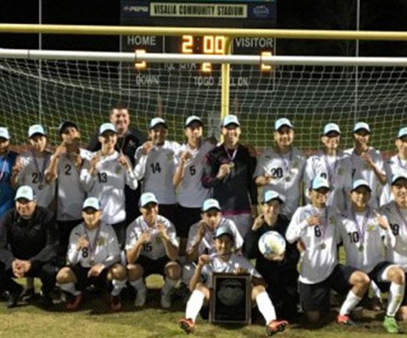 Golden West Boys Soccer wins Valleys