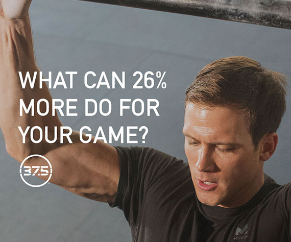 What can 26% more do for your game? – Presented by 37.5®Technology