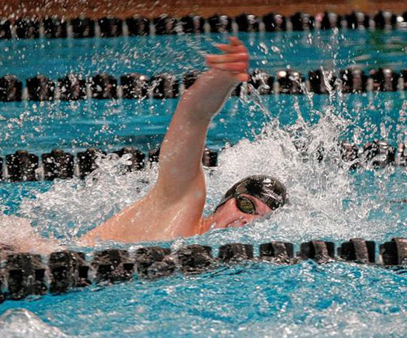 Calvin Furbee named to the 2017 USA Swimming Scholastic All-American Team