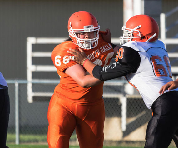 Player Profile: North Dallas Bulldogs (TX) lineman, Stefhany Gonzalez