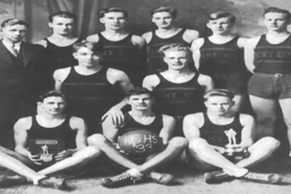 1933 Boys Basketball Team to be inducted into Kent City (MI) Hall of Fame