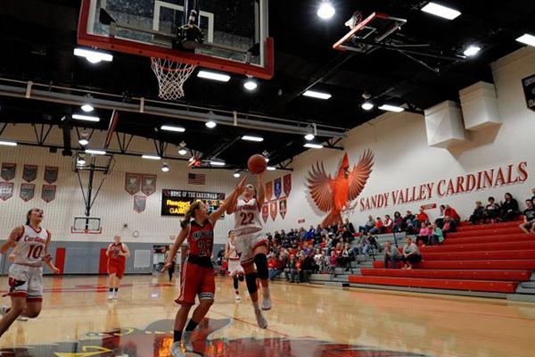 Sandy Valley (OH) Cardinal Karlee Altimore Sets Single-Season Scoring Record