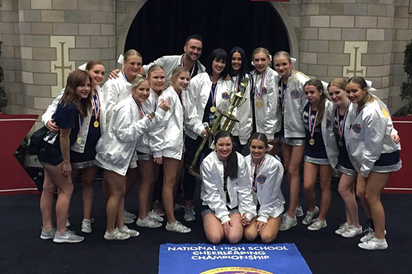 Corner Canyon (UT) Cheerleading Wins UCA National Title