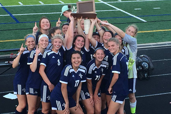 South Christian (MI) Sailor Soccer earns outright OK Gold title with shutout victory over FHE