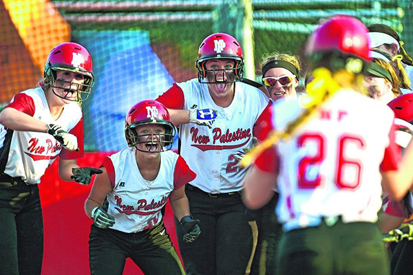 New Palestine (IN) rallies for dramatic walk-off victory