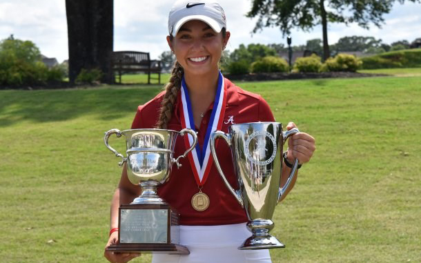 Randolph School (AL) All-State Golfer Michaela Morard Named to USA Today All-USA Second Team