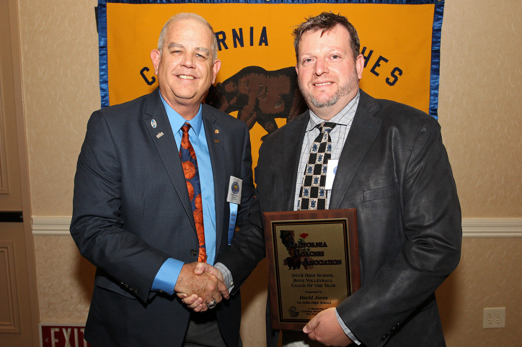 Coach Dave Jones of La Jolla (CA) Named National AVCA High School Coach of the Year