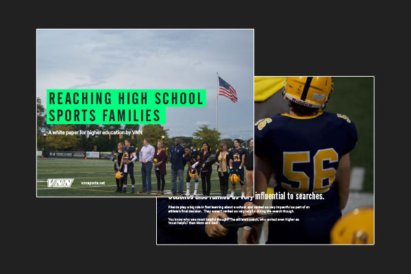 "VNN Releases the ""Higher Education Guide to Reaching Sports Families"""