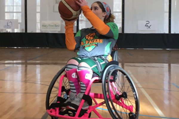 South Haven's (MI) Kaiden Cole Wins Wheelchair Basketball Tourney​