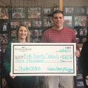 People's Bank of Kentucky makes Donation to Bath County High School (KS) for Students' Free Admission to Athletic Events