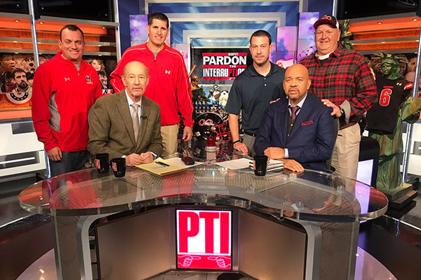Maryland Football State Champs Quince Orchard (MD) visit Pardon the Interruption