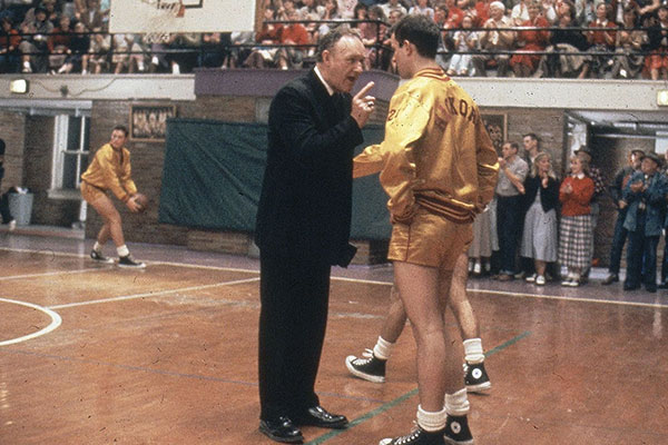 Staley (MO) Boys Basketball play in 'Hoosiers' Gym