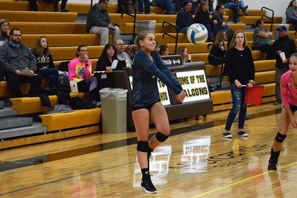 Grayling (MI)'s Ellie Wagner Sets School Record for Digs in a Season