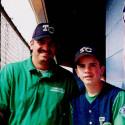 Easley Athletic Director and Head Baseball Coach Gill Payne meets his son, Jarrod in family regular-season battle!