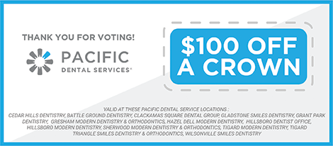 Pacific Dental AOTM Thank You Page