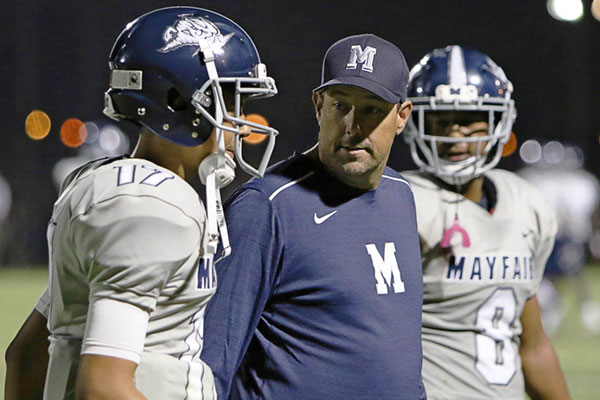 Mayfair Football (CA) Coaching Staff is selected to coach the LA County team in the 2019 605 All-Star Classic