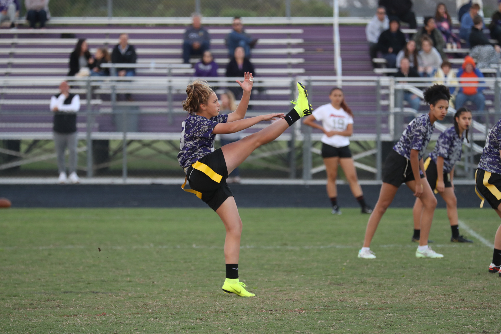 Photo Feature: Timber Creek (FL) Flag Football vs. East River