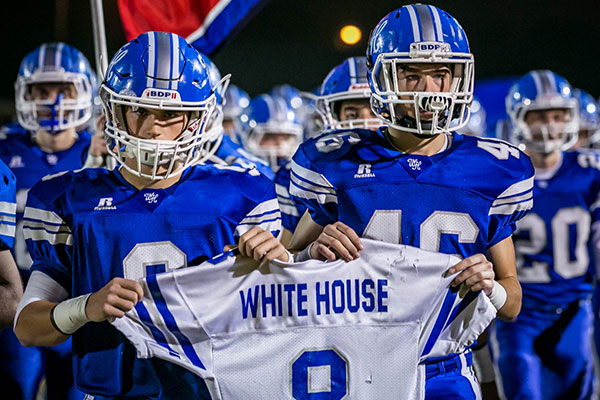 "Where did White House (TN)'s ""Blue Devils"" nickname come from?"