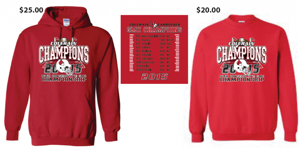 Apparel will be available in the Cardinal Corner Tuesday   Wednesday  10 30-1 00 and Friday 2 30-4 30. 2475b4e60874