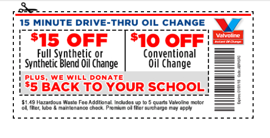 graphic regarding Valvoline Instant Oil Change Coupons Printable referred to as Valvoline on-line coupon - Cell resort discounts